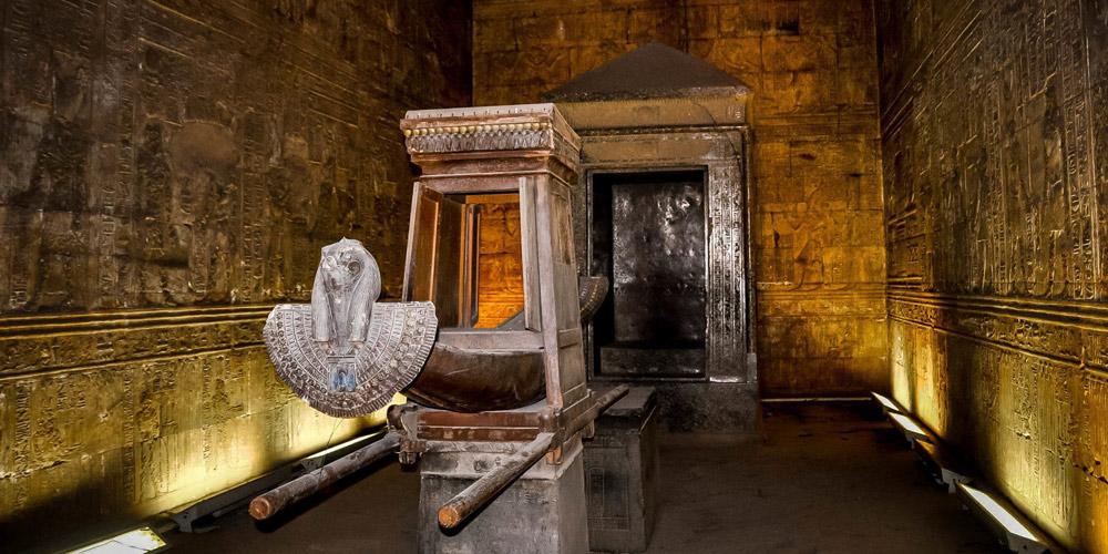 Edfu Temple Architecture - Egypt Tours Portal