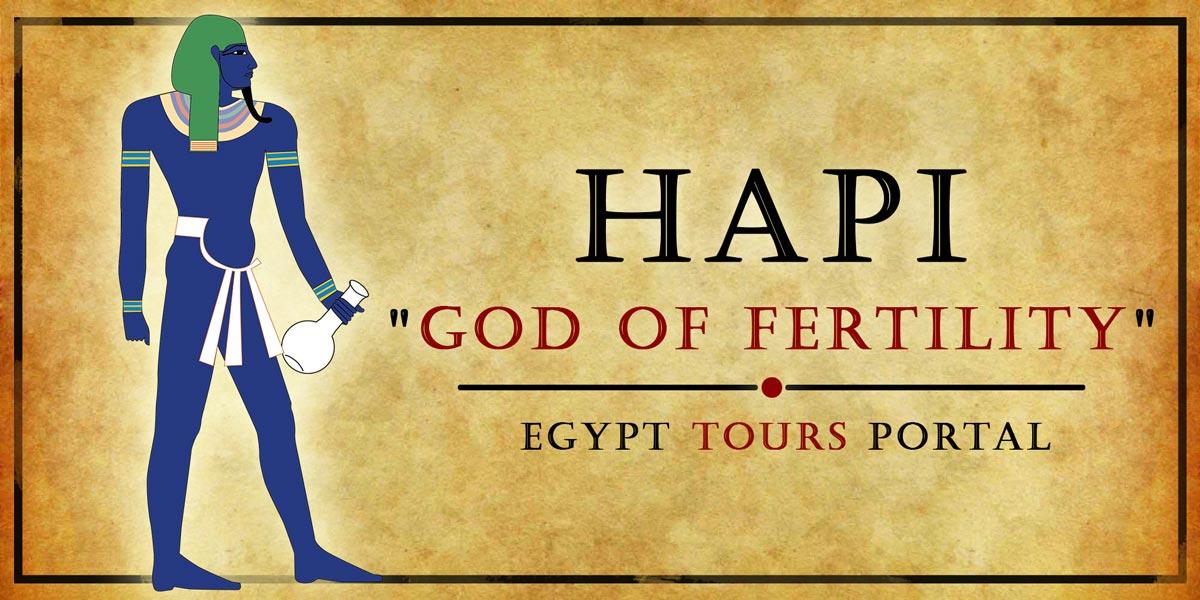 Hapi, God of Fertility - Ancient Egyptian Gods And Goddesses - Egypt Tours Portal