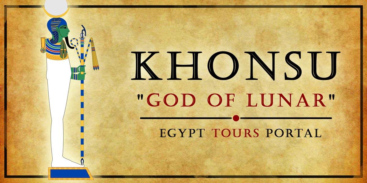 Khonsu, God of Lunar - Ancient Egyptian Gods And Goddesses - Egypt Tours Portal