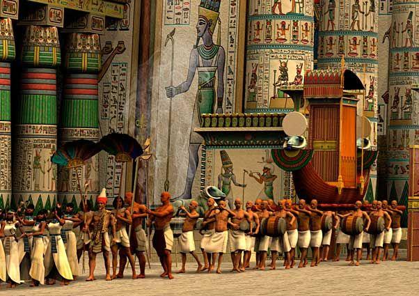 The Opet Festival - Festivals in Ancient Egypt - Egypt Tours Portal