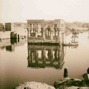 General view of Temple of Philae on the Flood - Philae Temple Relocation - Egypt Tours Portal