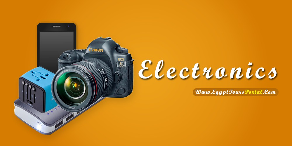 Electronics - What to Pack for Egypt - Egypt Tours Portal