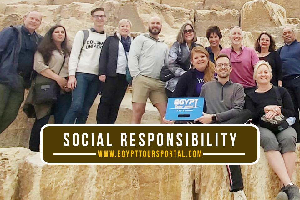 Social Responsibility Egypt Tours Portal