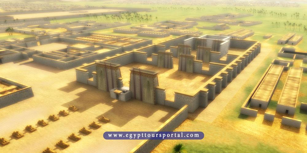 amarna city - ancient Egyptian cities - egypt tours portal