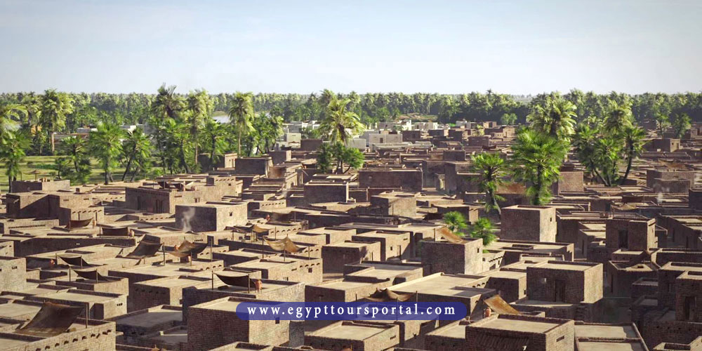 avaris city - ancient Egyptian cities - egypt tours portal