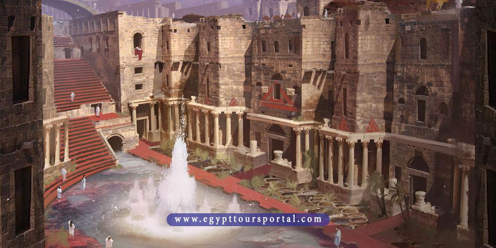 crocodiloplis city - ancient Egyptian cities - egypt tours portal
