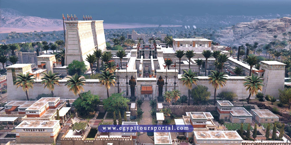 thebes city - ancient Egyptian cities - egypt tours portal