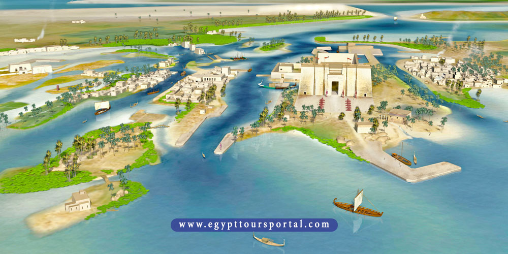thonis city - ancient Egyptian cities - egypt tours portal