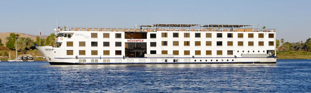 4 Days Movenpick MS Royal Lily Nile Cruise From Aswan
