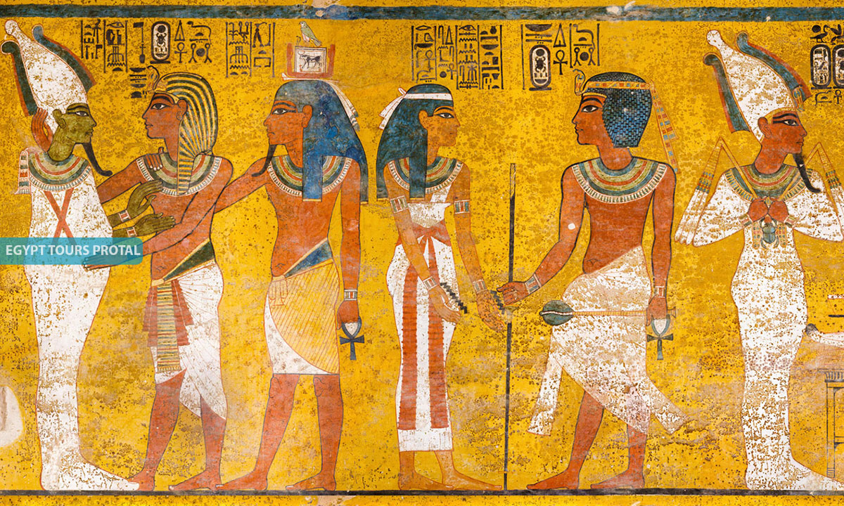 Paintings in Ancient Egypt - Egypt Tours Portal